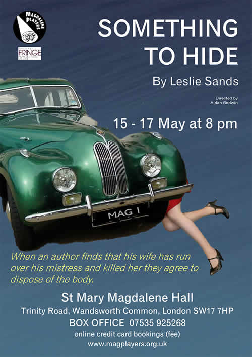 Something to Hide - Magdalene Players